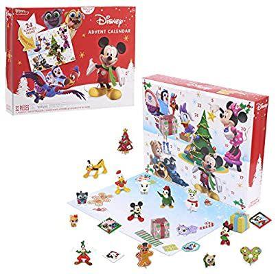 Amazon Com Disney Junior Advent Calendar 32 Pieces Toys Games Advent Calendars For Kids Cool Advent Calendars Kids Calendar