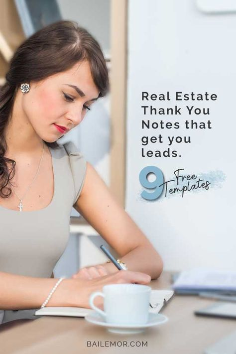 When to Send Real Estate Thank You Notes to Get Leads