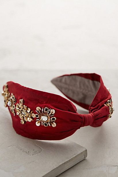 Uh-oh // Orlenda Headband - anthropologie.