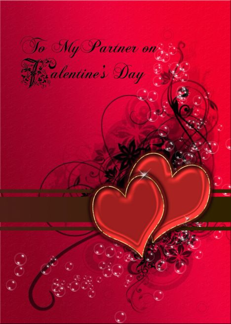 A Romantic Valentine Rsquo S Card For A Partner Card Ad Ad