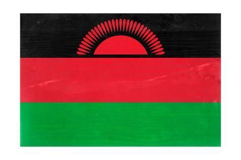 Malawi Flag Design With Wood Patterning Flags Of The World