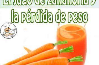 Para pina bajar de y peso zanahoria