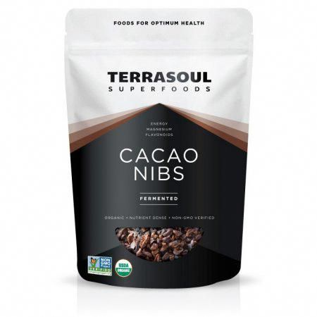 Terrasoul Superfoods Organic Raw Cacao Nibs Fermented 6 0 Oz Superfoodcacao Cacao Nibs Raw Cacao Nibs Raw Cacao