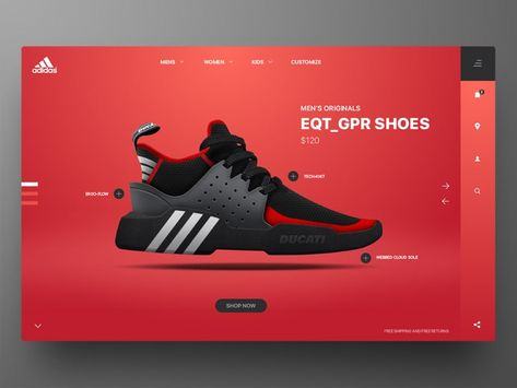 40 Shoe Website Design (Stunning Concepts) — Thehotskills