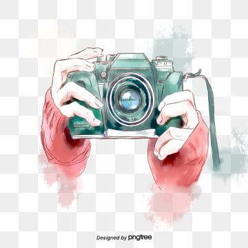 Slr Camera Photograph Photography Travel Watercolor Camera Art Camera Clipart Art Clipart Travel Clipart Photogra Camera Art Camera Logo Vintage Camera Cartoon
