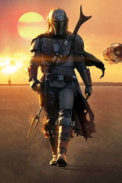 The Mandalorian This Is The Way Star Wars Tv Series In 2020 Star Wars Background Star Wars Poster Star Wars Wallpaper