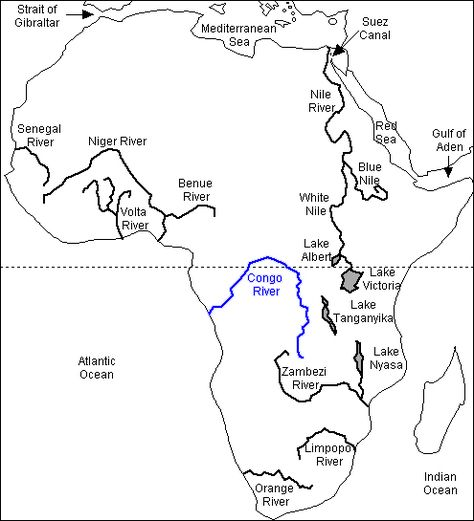 the congo river is the world s eighth longest river at 2 914 miles Where the Blue and White Nile Meet the congo river is the world s eighth longest river at 2 914 miles long it begins at the junction of the lualaba and luvua rivers in the altai mountains