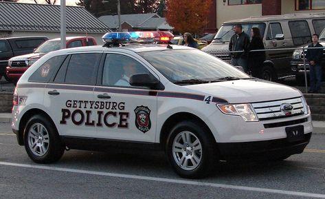 Gettysburg Pennsylvania Police Police Cars Police Us Police Car