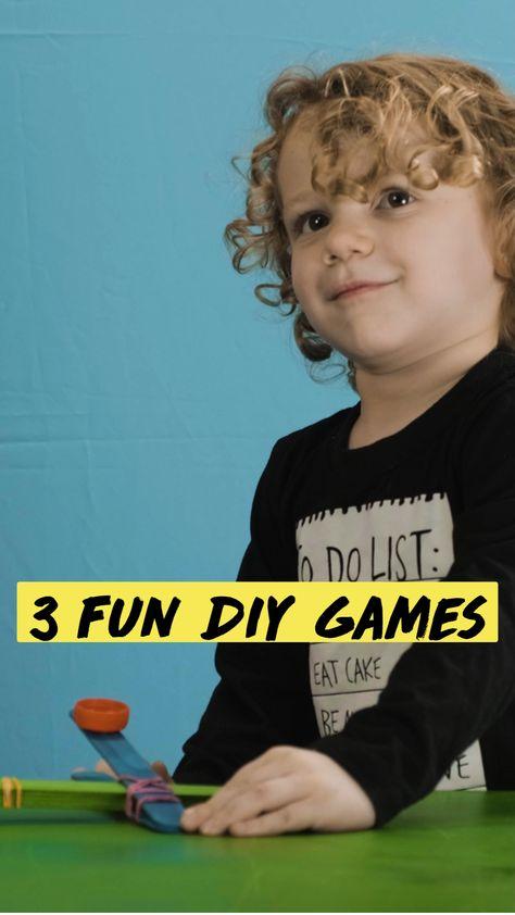 3 Fun DIY Games