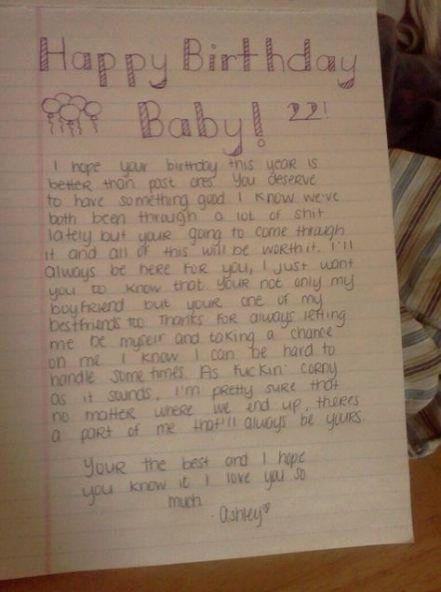 Birthday Letter For Boyfriend Inspirational 33 Trendy Birthday Message In 2020 Birthday Message For Friend Birthday Quotes For Girlfriend Birthday Letters To Boyfriend