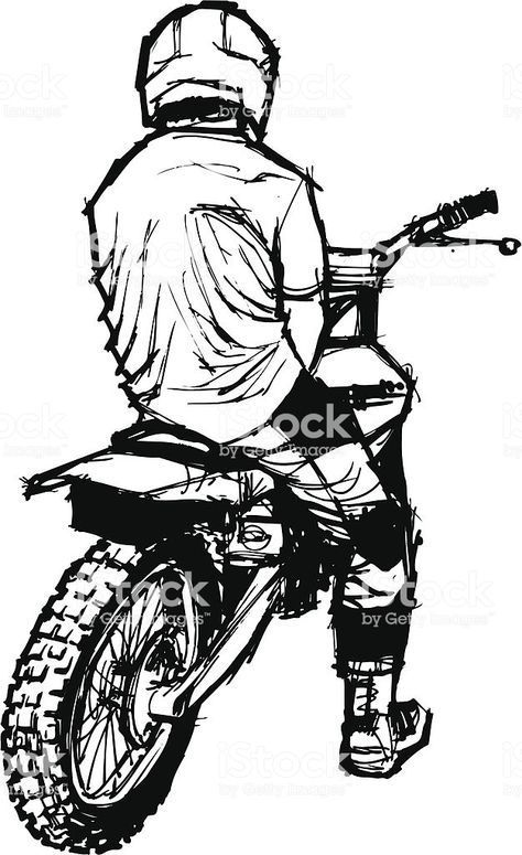 Moto Velocidad Dessin Moto Tatouage Motocross Dessin Moto Facile