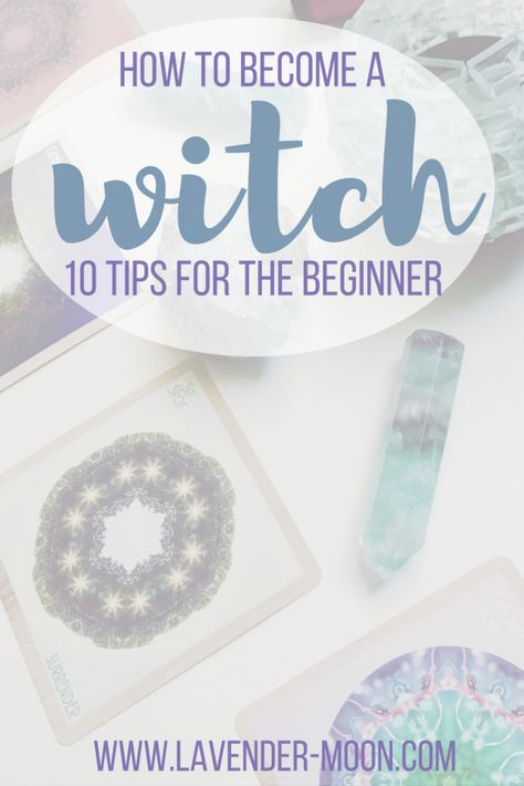 how to become a witch: 10 tips for the beginner. Book references, and interesting additional posts Spells For Beginners, Witchcraft For Beginners, Pagan Witchcraft, Magick, Wiccan Books, Eclectic Witch, Baby Witch, Modern Witch, White Magic
