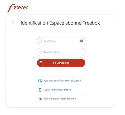 comment changer de mot de passe free