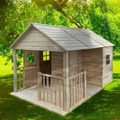 Sodass Man Auch Bei Wind Und Wetter Draussen Sitzen Kann Dabei Haben Wir Das Spielhaus Naturbel In 2021 Kinder Spielhaus Garten Kinderspielhaus Garten Spielhaus Garten