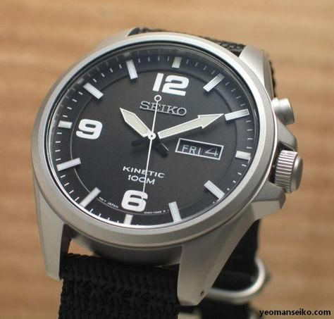 Besides Spring Drive, solar and mechanical watches, kinetic watches are also one of Seiko's clean energy watches. In a Kinetic watch, electricity is stored in a self-recharging battery that d…