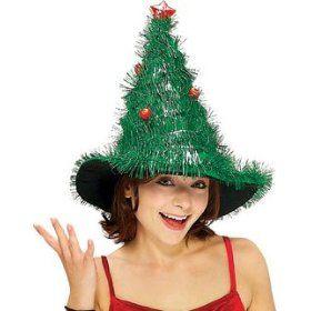 tacky christmas tree hat