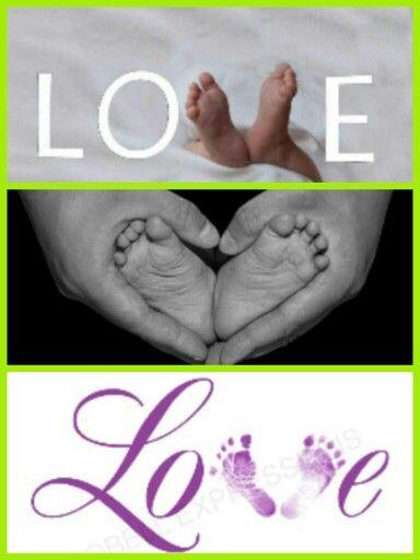 "Baby photo ideas ""LOVE"""