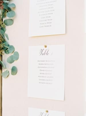 A Blush Tuscan Inspired Wedding At Desert Mountain Golf Club In Scottsdale Tuscan Inspired Wedding Wedding Seating Cards Tuscan Inspired