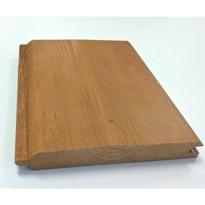 Woodtone Common 1 In X 6 In X 10 Ft Actual 0 75 In X 5 5 In X 10 Ft Realsoffit Tongue And Groove Pattern Stock Stained Spruce Pine Fir Board Lowes Com In 2020 Tongue And Groove Spruce