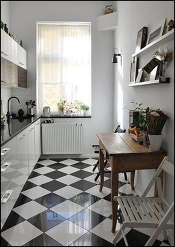 Decoration De Cuisine Noir Et Blanc Cuisine Moderne Blanche