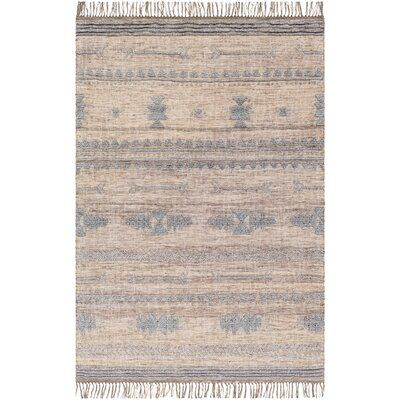 Union Rustic Hilley Southwestern Hand Tufted Brown Tan Area Rug
