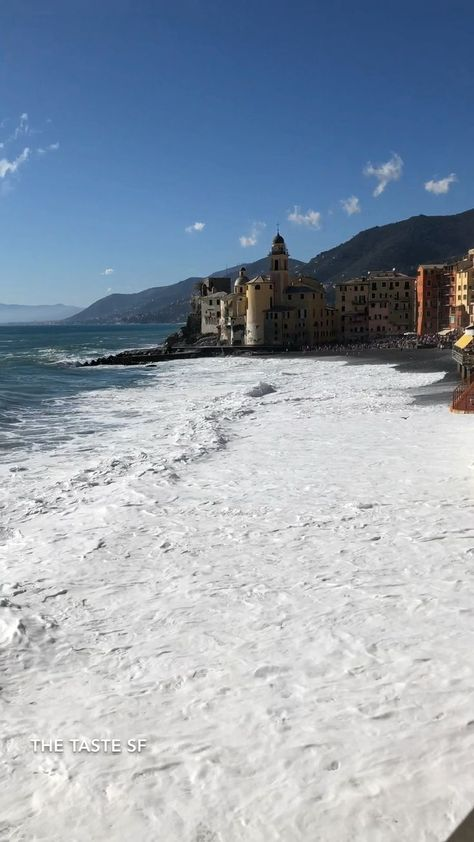 If you love Italy this beach town should be on your list. Close to Portofino and Cinque Terre, it has less American tourists. Beautiful beaches in the summer with colorful umbrellas on the shore. Get fried fish and cold wine wine from local fishermen or sit in a cafe. This is a go to favorite. Learn more plus other recommendations on restaurants, hotels, food, wine, and destinations. #italy #italytravel #italyvacation #amalficoast #beachvacation
