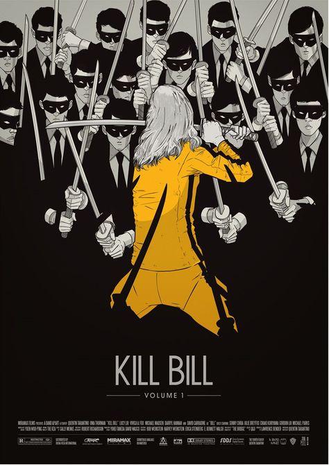 kill bill, kill bill moovie, kill bill moovie poster, kill bill film, kill bill film poster, wall decor, home decor