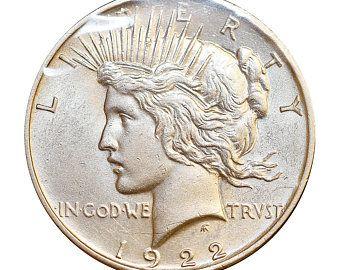 Silver Dollar Us Coin High Grade Xf