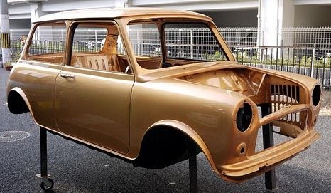 全塗装 オールペイント Classicmini Rovermini クラシックミニ ローバーミニ Minicooper Antique Cars Car Door Car
