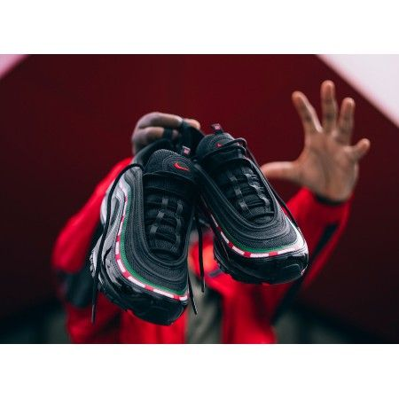 air max 97 blanche vert rouge