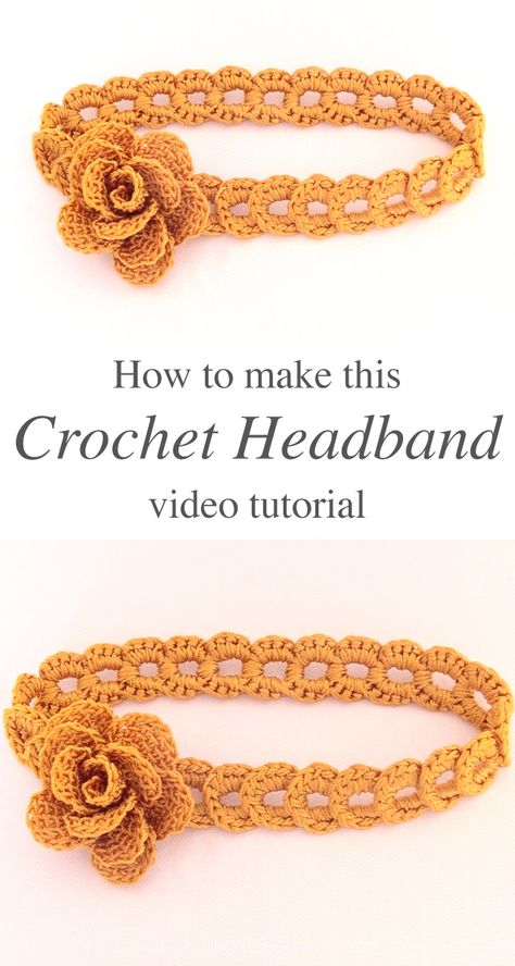 Total: 0 0 0 Crochet Flower Headband – This tutorial covers how to create a beautiful crochet flower headband of braided rings. Making this seemingly complicated headband is actually very simple. Crochet Headband Tutorial, Crochet Headband Free, Crochet Flower Headbands, Crochet Flowers, Crochet Baby, Free Crochet, Simple Crochet, Braided Headbands, Crochet Rings