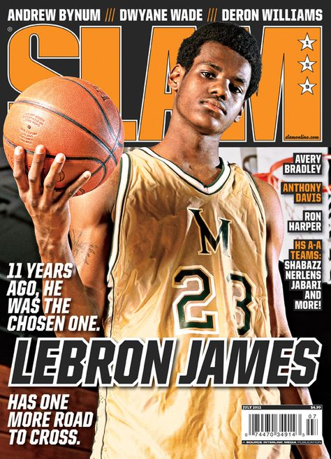 SLAM 159: Miami Heat LeBron James appeared on the cover of the 159th