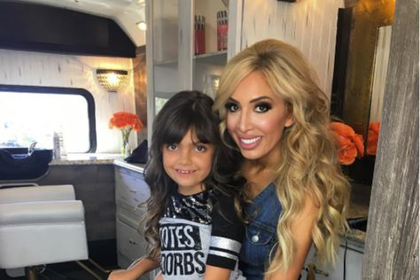 Here are rarely-seen photos of Farrah Abraham with daughter Sophia's