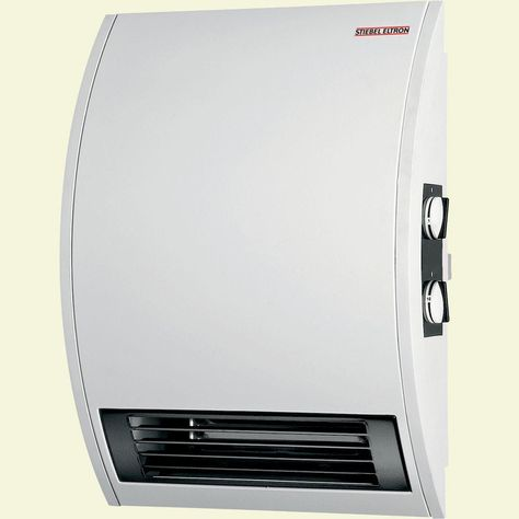 Stiebel Eltron Ckt 20e Wall Mounted Electric Fan Heater With Timer Whites Electric Fan Portable Heater Wall Mount