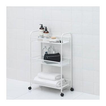 Hornavan Carrito Blanco 26x48x77 Cm Ikea Muebles De Bano