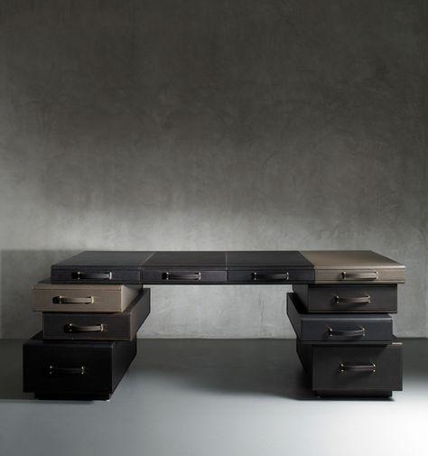 briefcases desk