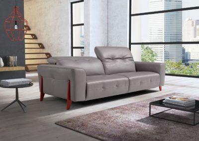Oceane Italian Leather Furniture Italian Leather Sofa Contemporary Leather Furniture
