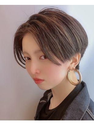 morio 原宿】イケメン女子 ハンサムショート