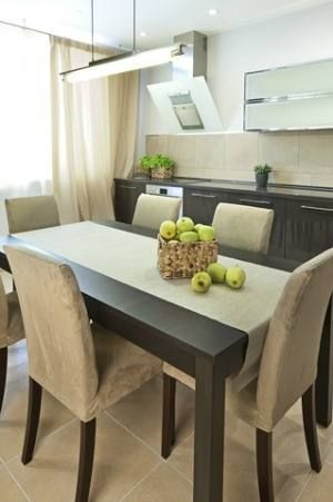 House Staging Elegant Dining Room Dining Room Table Eclectic Dining Room