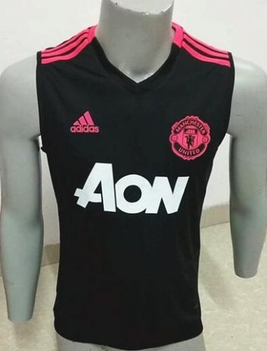 2018 19 Manchester United Black Thailand Soccer Vest Aaa Athletic Tank Tops Soccer Training Manchester United Football Club
