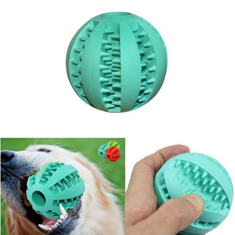 Fashion Plastic Dog Toy Rubber Balls Pet Toys Ball Chew Toys Tooth