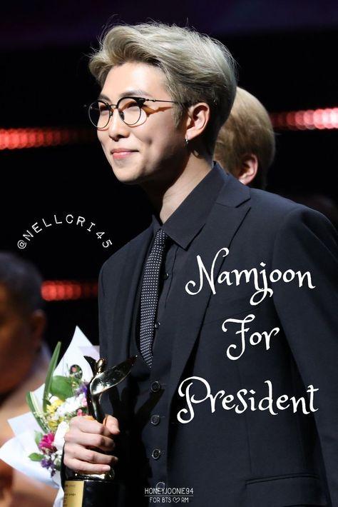 Namjoon For President