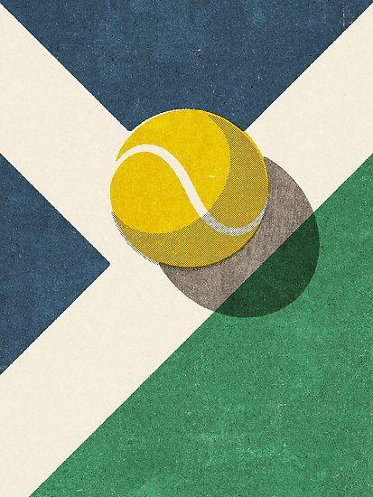 Balls Tennis Hard Court Poster Von Daniel Coulmann In 2020