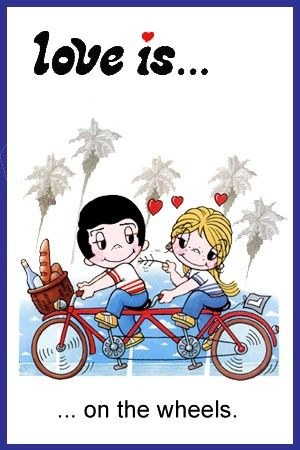 Love Is Cartoons By Kim Casali | Posted in Love is... | Tagged: kim casali grove love is , taking her ...