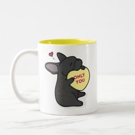 Valentine S 2015 French Bulldog Brindle Coffee Mug Zazzle Com Valentines 2015 Valentines Tumblr Mugs