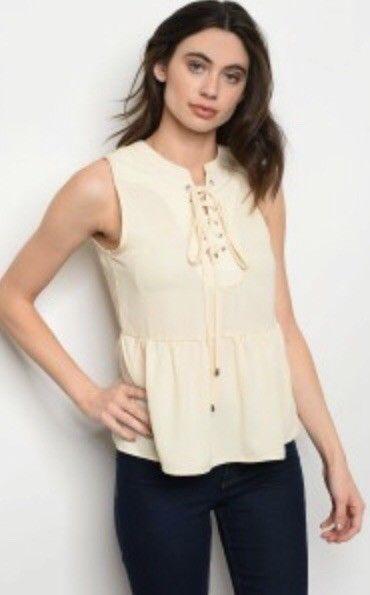 Khanomak Womens Short Sleeve V Neck Strappy Front Cotton Bodycon Romper