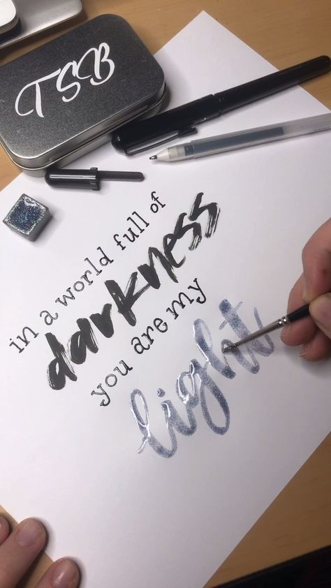 Lettering videos are amazing