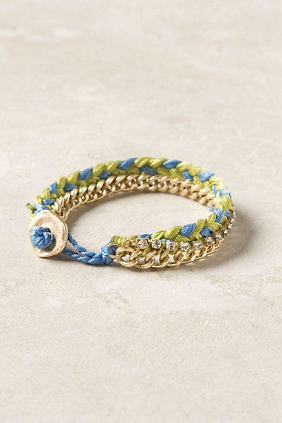 Braided Brights Bracelet - Anthropologie.com