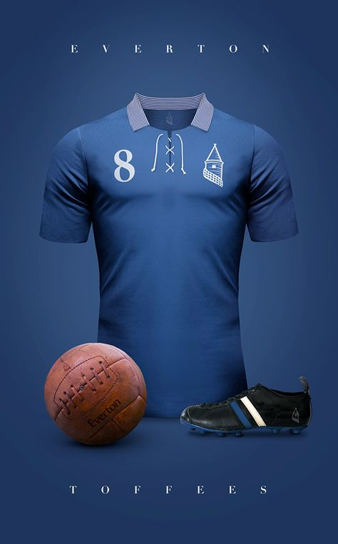 Vintage Clubs - Everton - Toffees