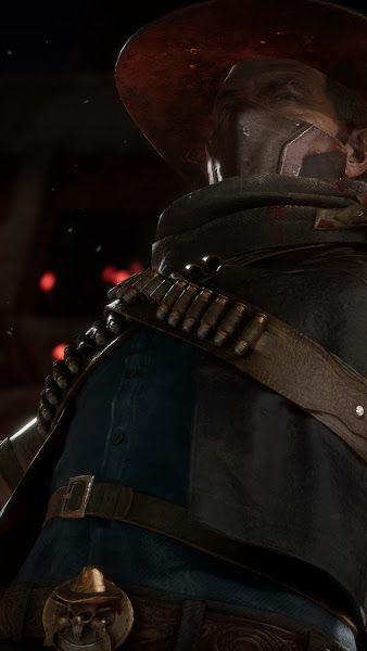 Erron Black, Mortal Kombat 11, 4K,3840x2160, Wallpaper